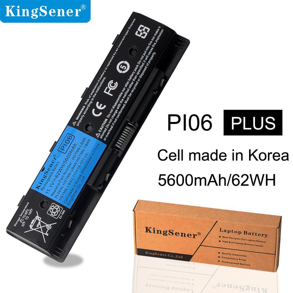 KingSener Korea Cell PI06 ბატარეა HP Enyy 14 15 17 - ლეპტოპის აქსესუარები - ფოტო 1