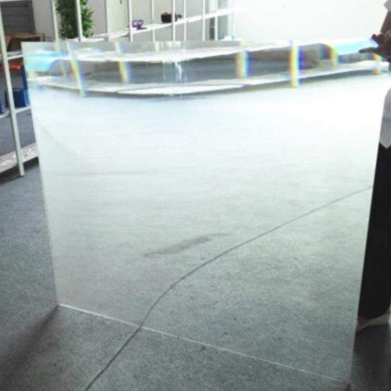 Lentille de Fresnel solaire en plastique optique carrée PMMA 330*330mm lentille de Fresnel en verre de feu de signalisation de collimation solaire