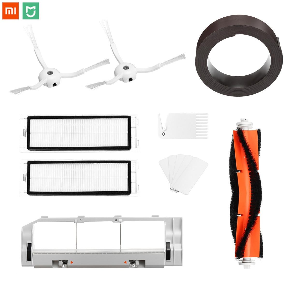 13 pcs XIAOMI MI Robot aspirateur pièces HEPA filtre brosse aimant pour XIAOMI MI Roborock accessoire aspirateur