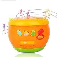 RCtown Musical Instrument English Drum Early Learning&Educational Teaching Hand Development Drum Toy Infat Playing Type