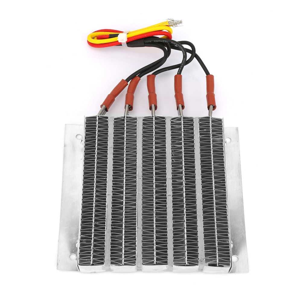 1000W Housing Constant Temperature PTC Ripple Heating Plate Thermistors Heater with Cable High Quality