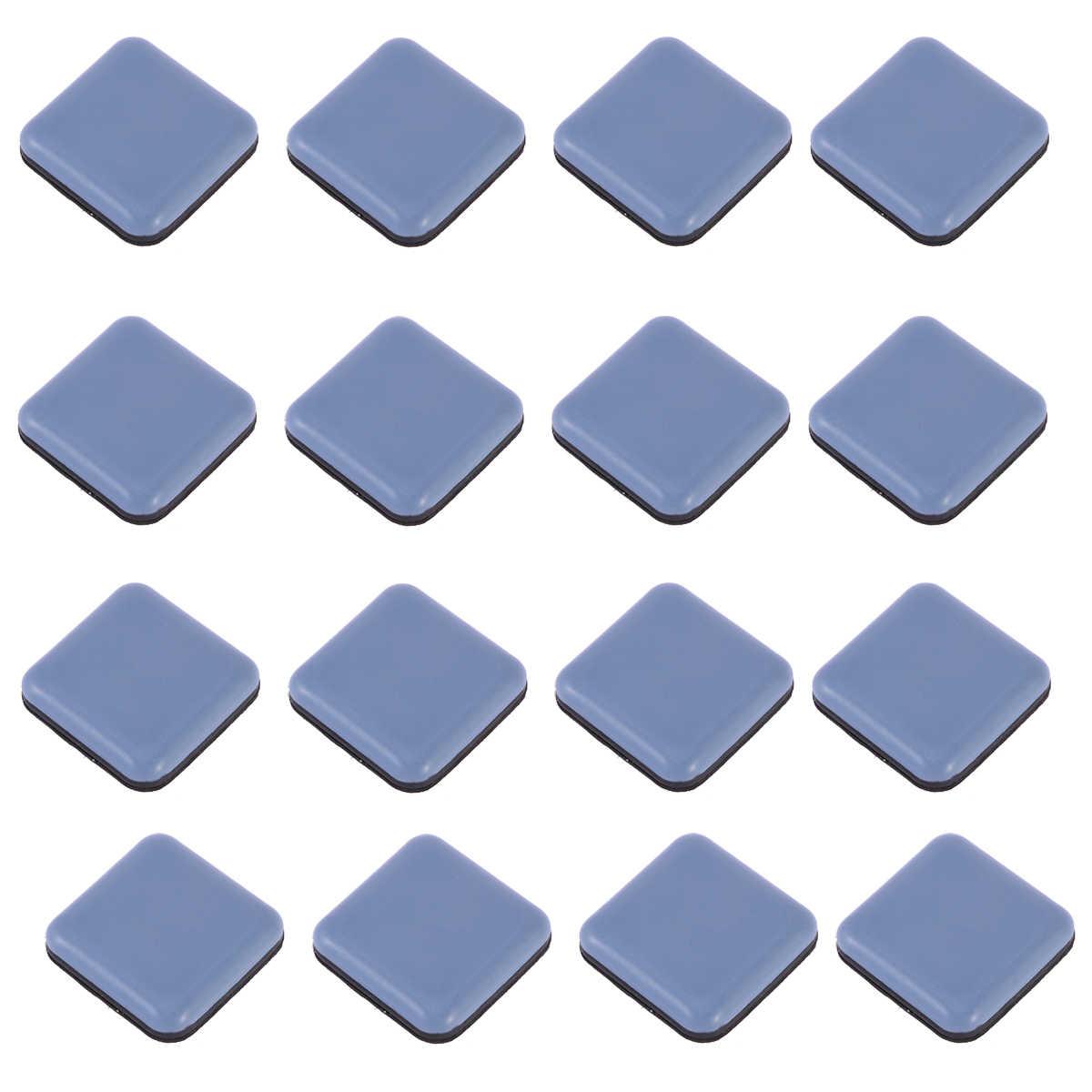 Упаковка из 16 легко перемещается, утолщенная Бесшумная самоклеящаяся защита для пола коврик для ног крышка для ног для мебели, стульев и столов