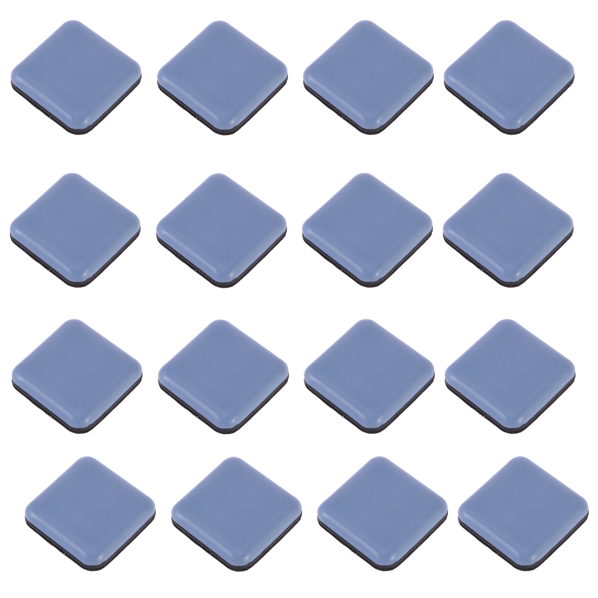 Pack Of 16 Easy To Move Thicken Silent Self-adhesive Floor Protectors Pad Feet Cover Leg Bottom For Furniture Chair Table