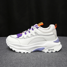 New Designer Spring Wedges White Shoes Platform Shoes Chunky Sneakers 2019 Women Female Casual Shoes Woman Soft Tenis Feminino 2019 spring new luxury designer white chunky shoes basket female platform sneakers women tenis feminino casual female shoes woma