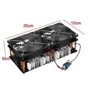 Image 4 - 1800 W/2500 W ZVS אינדוקציה דוד אינדוקציה חימום PCB לוח מודול Flyback נהג דוד קירור מאוורר ממשק + 48V סליל