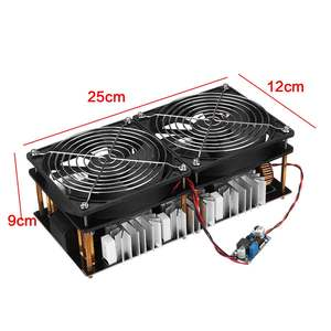 Image 4 - 1800W/2500W ZVS Induction Heater Induction Heating PCB Board Module Flyback Driver Heater Cooling Fan Interface+ 48V Coil