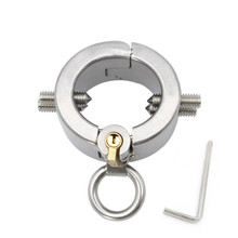 Stainless Steel Penis Rings Male Chastity Belt With Teeth Ball Stretcher Sex Toys For Men Cock Ring Pendant Scrotum Testicle цены