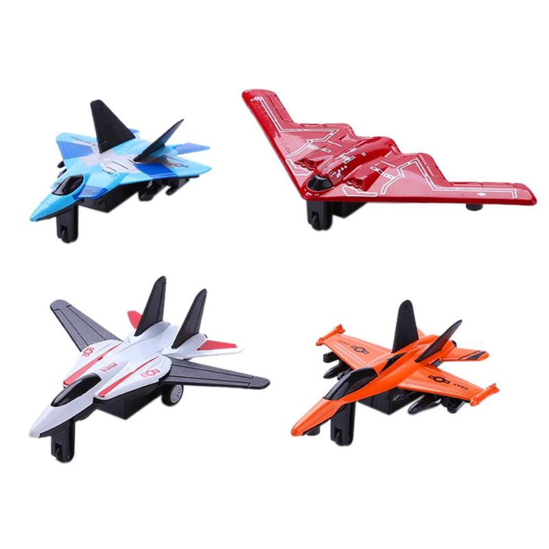 Alloy Aeroplane Mini Lifelike <font><b>Aircraft</b></font> Plane <font><b>Model</b></font> Educational Toy Kids Gifts Military Warplane Enlighten Space Shuttle Sets Toy image