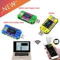 UM34/UM34C UM24/UM24C UM25/UM25C цветной ЖК-дисплей USB тестер напряжения измеритель тока Вольтметр Измерение заряда батареи