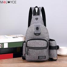 2 Ways Men Bags Wearing Men Backpack Sli