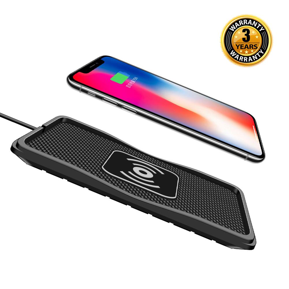 2019 New Car Mount Qi Wireless Charger For IPhone XS Max X XR 8 Fast Wireless Charging Car Phone Holder For Samsung Note 9 S9 S8