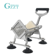 GZZT Restaurant Manual French Fry Cutters Potato Slicer Vegetable Fruit Cutting Machine Kitchen Chopper 6mm/9mm/13mm Blades