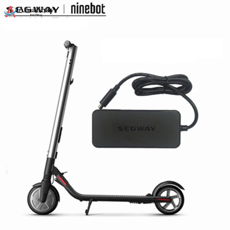 Original Xiaomi Ninebot Charger For Ninebot ES1 ES2 Kickscooter Electric Scooter 42V 71W US Plug Power