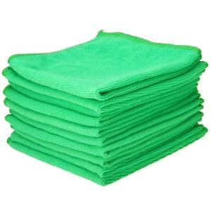 Image 3 - Mayitr 10 Pcs Car Microfiber Clean Towel 25*25CM Car Soft Microfiber Absorbent Wash Cleaning Polish Towel Cloth