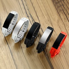 Silicone Sport ID Bracelets for Men Woman Accessories Personalized Custom Engraving-Choose Your Color