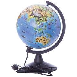 Глобус Globen Зоогеографический (Детский) с подсветкой, 210мм