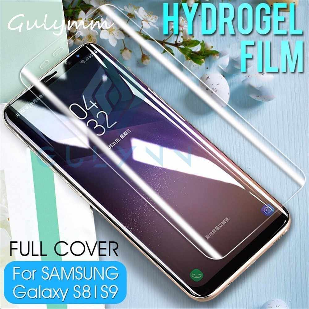 Full Cover Soft Protective Hydrogel Film For Samsung Galaxy 10 10E PLUS S7 S6 Edge S8 S9 Plus Note 8 9 HD Screen Protector Film