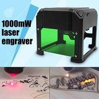 1000mW Desktop USB Laser Engraver DIY Logo Mark Printer CNC Cutter Laser engraving Machine Engraving Range 80x80mm