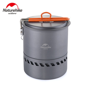 Image 2 - Naturehike Portable Picnic Barbecue Outdoor Camping Pot Cookware For Free Accessories 2 Outdoor Bowls 1 Spoon