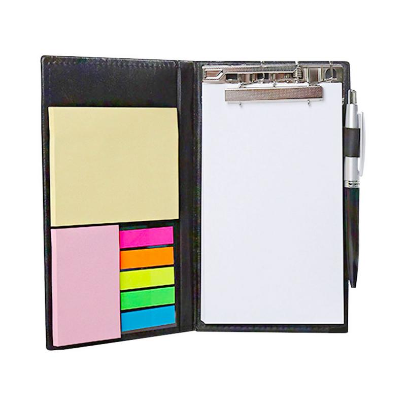Sticky Notes Notebooks Colored Page Rectangular Notes Index Tabs Flags Organizer Ballpoint Pen Leather Look Design HolderSticky Notes Notebooks Colored Page Rectangular Notes Index Tabs Flags Organizer Ballpoint Pen Leather Look Design Holder