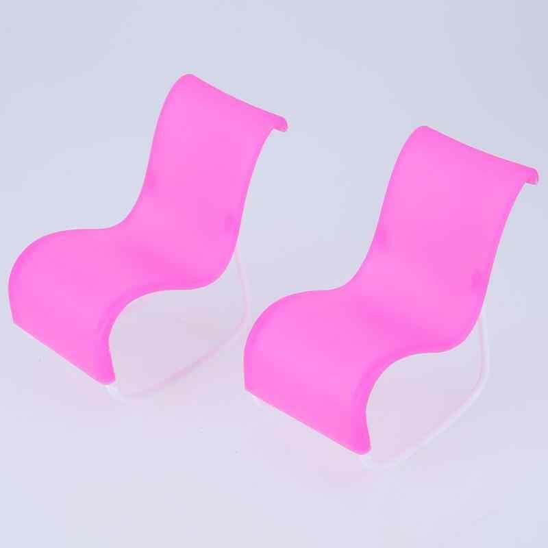 Mini lol muñeca sombrilla paraguas de encaje mecedora caballo Silla de escritorio cochecito muñeca accesorios hechos a mano muñeca de plástico rosa