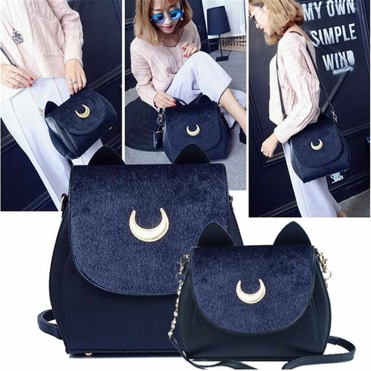 d012fefbfb6 Detail Feedback Questions about AEQUEEN 2019 Sailor Moon Bag Women ...