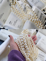 Free shipping elegant vintage pearl hairpin for