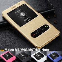 Meizu M6S case Meizu M6T cover window view PU leather case PC stand book cover for Meizu M6 case Meizu M6 Note cover flip case zokteec case for meizu m6 case flip pu leather wallet back cover phone case for meizu m6 note m6 note case m 6 note 6m