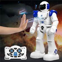 Remote Control Robot Toy Smart Child RC Robot With Sing Dance walking Action Figure Toys For Boys Birthday Gift fast shipping(China)