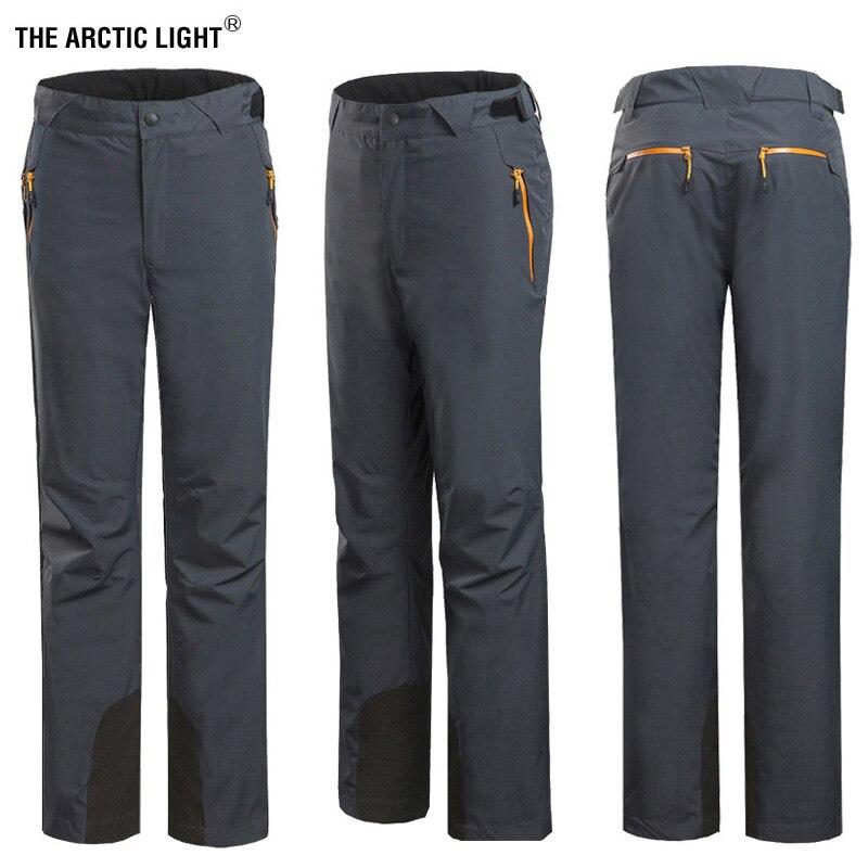 Le pantalon de Ski homme lumière arctique russe sautant épais chaud coupe-vent doublure polaire amovible en plein air randonnée pantalon hiver