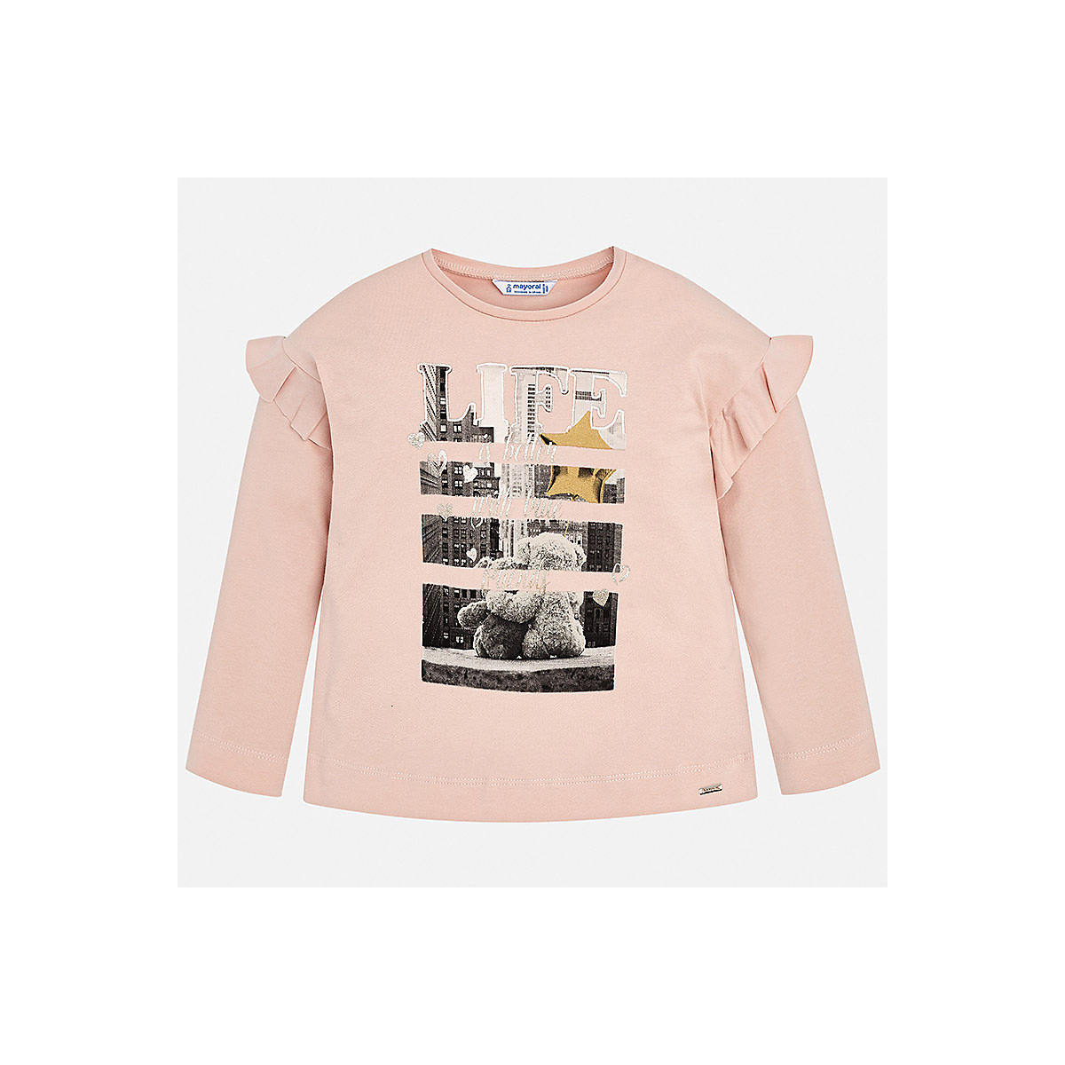 MAYORAL Blouses & Shirts 8848743 Girls Cotton  clothes baby boy children child wear autumn baby boy clothes newborn cartoon baby girls clothing rompers infant cotton long sleeve jumpsuits spring clothes wear