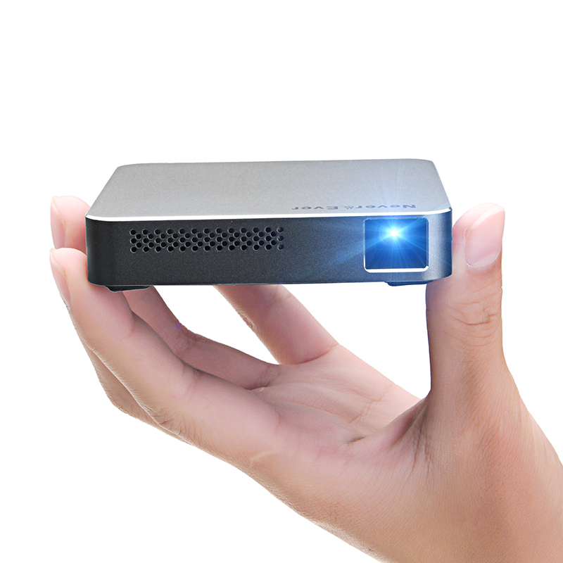 Lagere Prijs Met Cilate Mini S5 Dlp Led Hd Projector Android 4.4 1800 Lumen 854*480 1000: 1 Ondersteuning 1080 P Office Home Cinema Home Theater