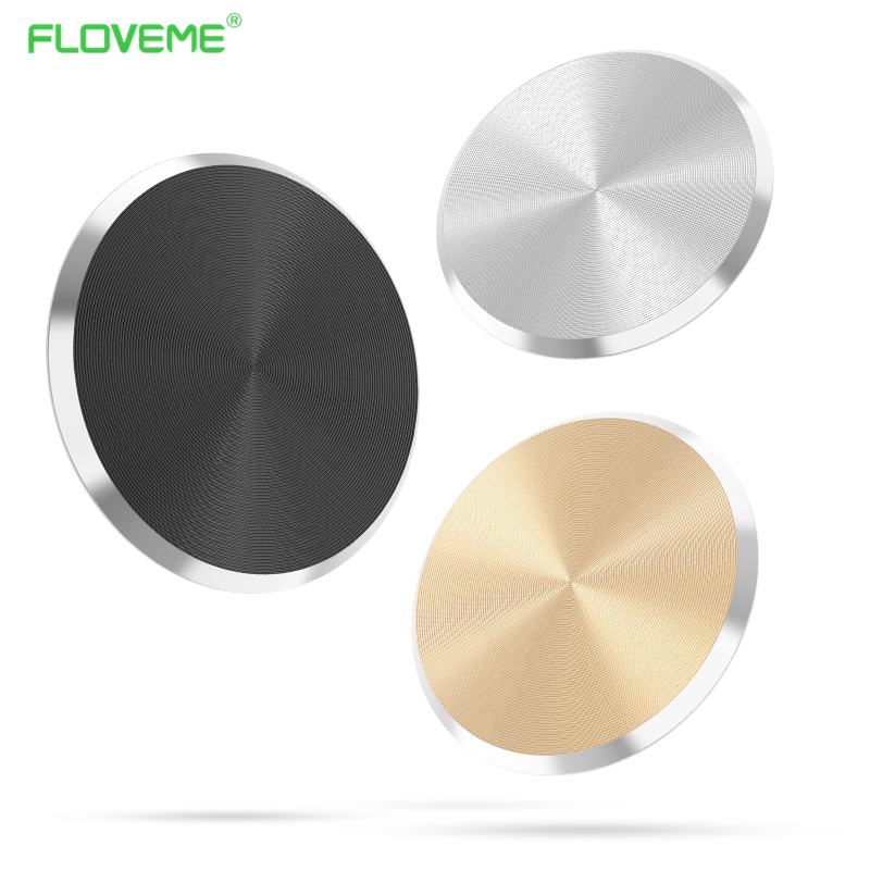 FLOVEME Magnetic Sheet for Car Phone Holder Ultra Thin Metal Plate Iron Stand For
