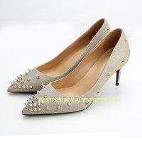 Модная женская обувь, обувь на высоком каблуке, женские туфли лодочки высокого качества, свадебные туфли из натуральной кожи на высоком каб
