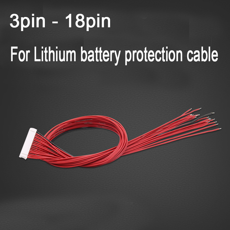 DYKB Li-ion Lifepo4 Lithium Battery Protection Board Cable Wire FOR 2S 3S 4S 6S 7S 8S 10S 12S 13S 14S 16S 17S 20S 24S Cell