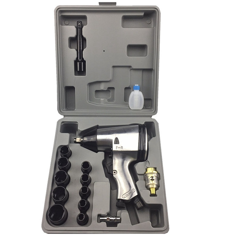 1/2inch Square Drive Air Pneumatic Tyre Tool Air Impact Wrench Kit Pneumatic Twin Hammer Air Tool For Compressor High Torque1/2inch Square Drive Air Pneumatic Tyre Tool Air Impact Wrench Kit Pneumatic Twin Hammer Air Tool For Compressor High Torque