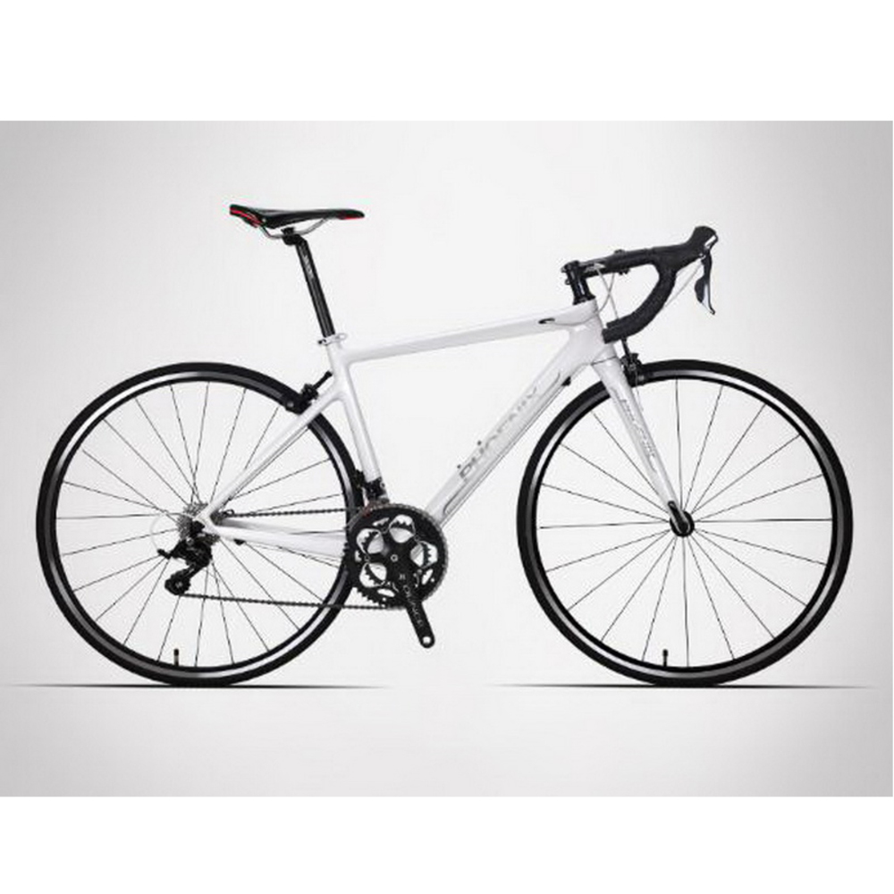 140901/Carbon Fiber Road Bike / 8/16/18 Speed Male And Female Cross Country Bend Road Bike/High-quality Materials