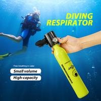 1 Pcs Oxygen Tank Diving Equipment Mini Scuba Diving Cylinder Scuba Air Tank Underwater Diving Accessories Swimming Tools