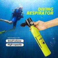 1 Pcs Oxygen Tank Diving Equipment Mini Scuba Diving Cylinder Scuba Air Tank Underwater Diving Accessories Swimming Tools