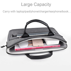 Image 3 - WIWU Laptop Bag Case for MacBook Air 13 Case Pro 13 15 16 Women Men Pouch Notebook Bag 14 inch Nylon Waterproof Laptop Bag 15.6