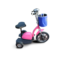 Europe Stock 500w three wheel folding motorcycle electric hoverboard Electronic tricycle 48v 12ah