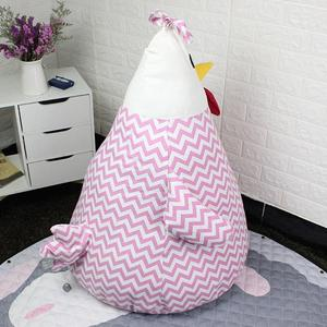 Image 2 - Adeeing portátil de Niños de dibujos animados chica en forma de bolsa para juguetes de almacenamiento de ropa