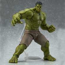 Super Hero Action figure The Avenger 17CM Thor Captain America Wolverine Spider Man Iron Hulk PVC Figure Toy Dolls