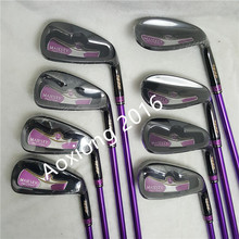 Woman Golf clubs Maruman Majesty Prestigio 9 Golf irons 5-10 P.A.S Irons clubs Graphite shaft L flex Free shipping new golf clubs maruman majesty prestigio 9 golf fairway wood 3 15 5 18 loft graphite golf shaft r or s wood clubs free shipping