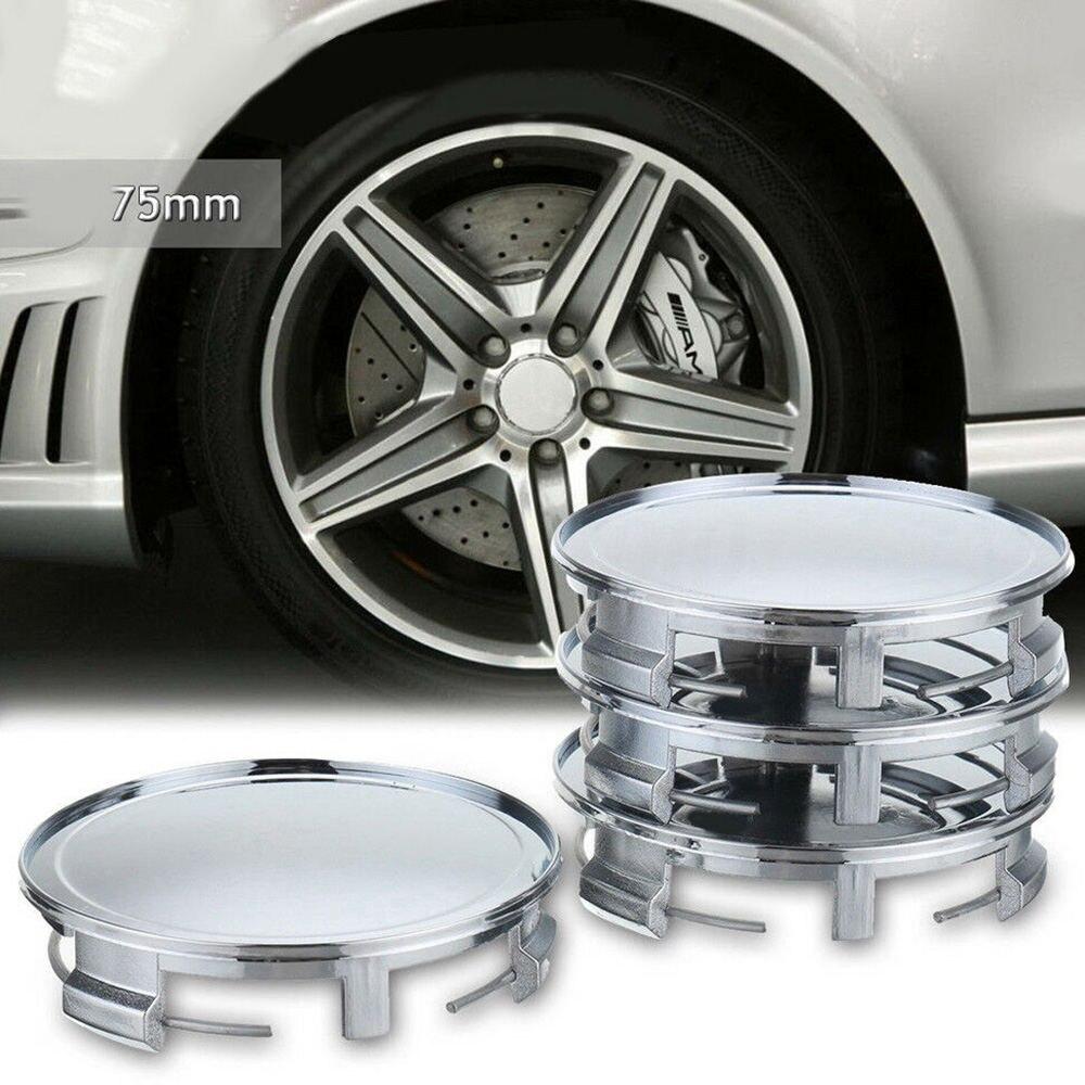 Genuine Avus Silver Wheel Center Hub Caps 16/'/' 17/'/' 4x SET AUDI TT TTS 2003-2006