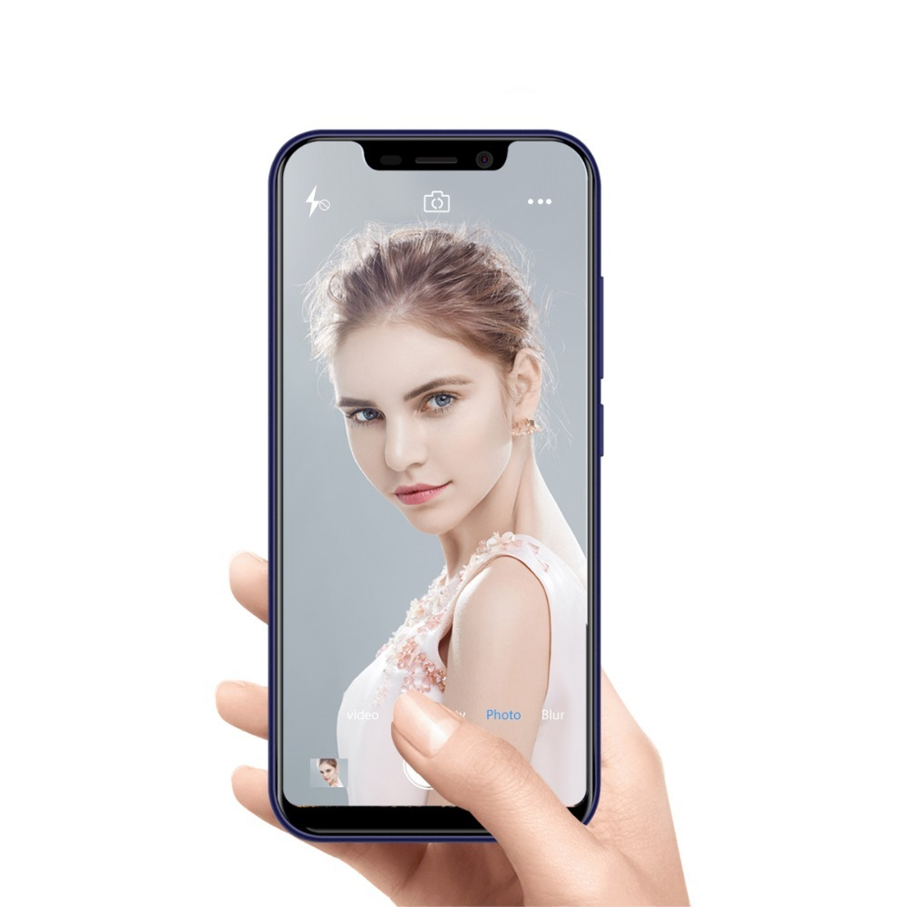 BLACKVIEW A30 Telefoon 5.5 19:9 Full Screen MTK6580A Quad Core Android 8.1 2 GB + 16 GB Dual SIM gezicht ID 8.0MP Dual Camera SmartPhone - 6