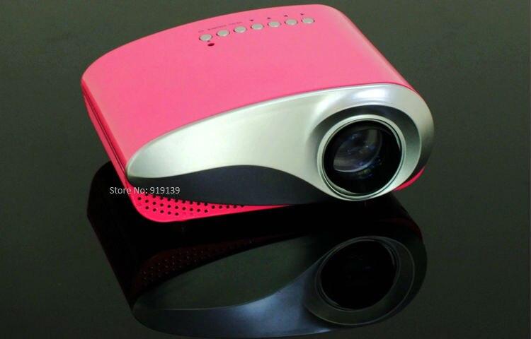 mini projector red pic 1
