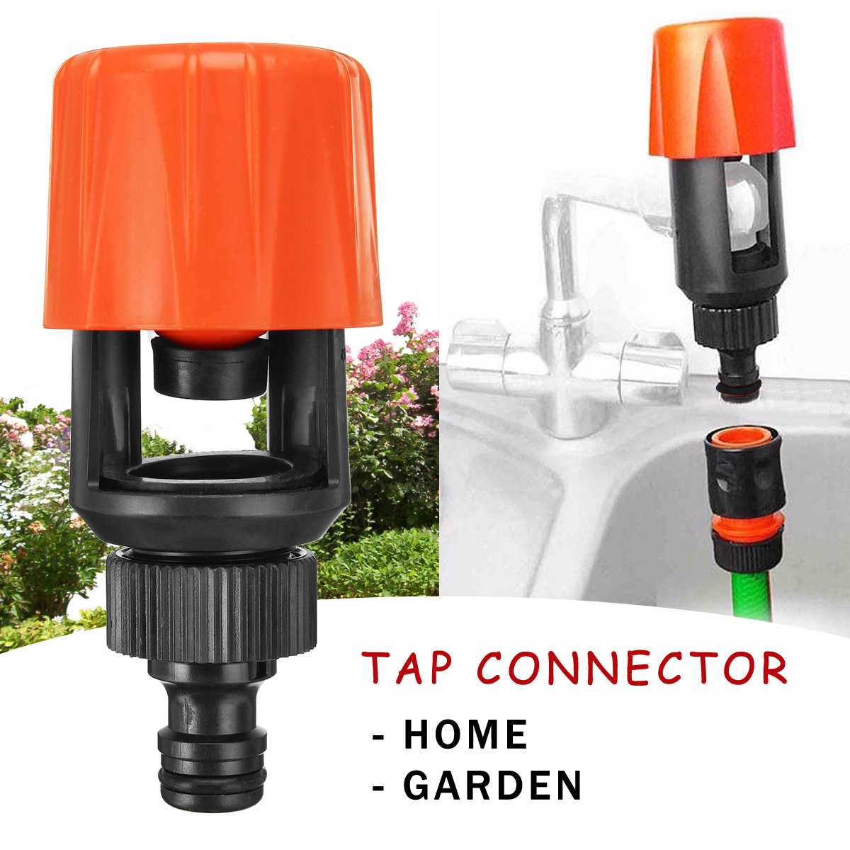 1Pcs Universal Kitchen Mixer Tap Adaptor Water Plastic Hose Pipe Joint Tube Push Into Quick Coupling Connect Garden Tap Fitting1Pcs Universal Kitchen Mixer Tap Adaptor Water Plastic Hose Pipe Joint Tube Push Into Quick Coupling Connect Garden Tap Fitting
