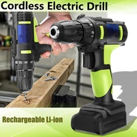 100 240V 12V Electric Screwdriver Rechargeable Lithium Battery Wireless Hand Power Drill Driver DIY Household Industrial Tools