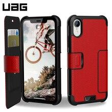 Защитный чехол UAG для iPhone XR серия Metropolis цвет красный/111096119393/32/4